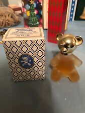 1976 Avon Teddy Bear Decanter, Original Box, Sweet Honesty Cologne
