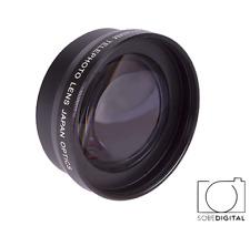 58MM HD 2X TELEPHOTO CONVERSION LENS FOR SIGMA DP3 Quattro Digital Camera