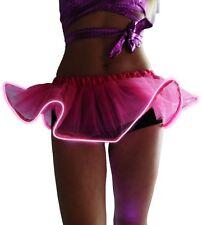 Light Up LED Dance Tutu Mini Skirt Evening Christmas Party Fancy Dress Costume