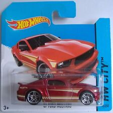 HotWheels (2014)'07 Ford Mustang - #095/250 - 1/64 - Città HW-Rosso