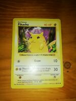 1999 Wotc Pokemon Cards Pikachu shadowless Base Set 58/102