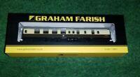 N Gauge Graham Farish 374-189C Mk1 BSK 2nd Class Brake Coach BR Chocolate/Cream