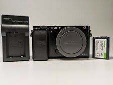 Sony Alpha A6000 24.3MP Mirrorless Camera (Body Only) + Warranty