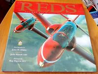 REDS: THE RAF RED ARROWS IN ACTION BY JOHN RANDS - HARDBACK 1999 1ST EDITION