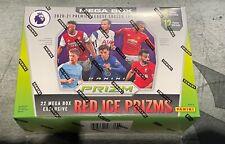 2020-21 Panini Premier League Prizm Soccer Futbol Trading Cards Mega Box Red NEW