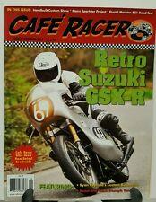 Cafe Racer Retro Suzuki GSX-R Ducati Monster 821 Aug Sept 2015 FREE SHIPPING JB