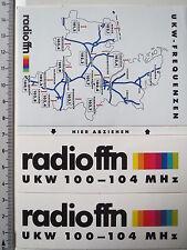 Aufkleber Sticker Radio FFN (3834)