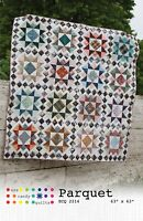 """Parquet Quilt Pattern by Eye Candy Quilts 63"""" X 63"""""""