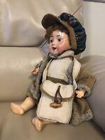 Antique Boy Doll Baby German 1920s PM Bisque Porzellanfabrik Mengersgereuth 914