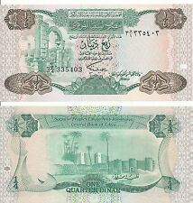 LIBIA / Libia - 1/4 Dinar 1984 UNC - Pick 47, Serie 3