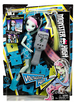 Monster High DNX36 Voltageous Hair Frankie Stein Doll UV Light Hairstyle Effects