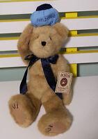 BOYDS COLLECTION TEDDY BEAR HOPIN U. FEELBETTA  WITH TAGS 40CM HEAD -TOES