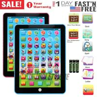 Educational Toys For 2 Year Old Baby Kids Toddlers Boy Girl Learning Tablet Set
