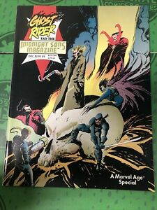 Ghost Rider And The Midnight Sons Magazine