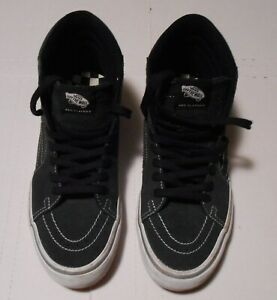 VANS OFF THE WALL PRO CLASSICS INDEPENDENT LOGO SIZE 9-1/2  HIGHTOP SHOE SKATE