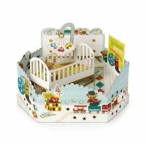 Hallmark Paper Wonder 3D Pop Up Welcome Baby Boy Card 25522164