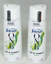 Febreze One Fabric & Air Freshener Mist Refills, Bamboo Scent 10.1 Oz - 2 bottle