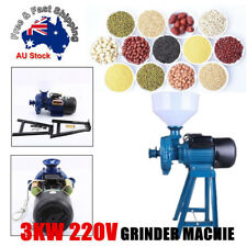 3000W Wet & Dry Electric Feed Flour Mill Cereals Grinder Corn Grain Coffee Wheat