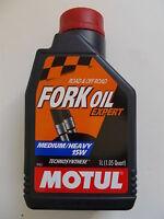MOTUL FORK OIL EXPERT 15W OLIO IDRAULICO PER FORCELLE GRADAZIONE 15W