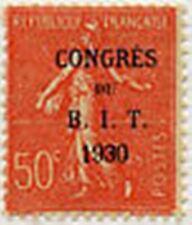 "FRANCE N°264 "" BUREAU INTERNATIONAL DU TRAVAIL PARIS SEMEUSE 50 C "" NEUF x TB"