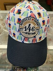 KENTUCKY DERBY 146 - BASEBALL STYLE CAP - NEW MULTICOLORED SILKS / MAY 2, 2020