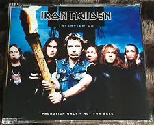 IRON MAIDEN PROMO Brave New World INTERVIEW cd EMI