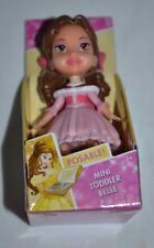 2017 NEW RELEASE DISNEY PRINCESS MINI TODDLER BELLE IN RED AND PINK DRESS