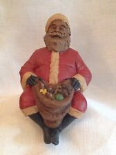 Tom Clark Shelf- Sitting Santa 1991