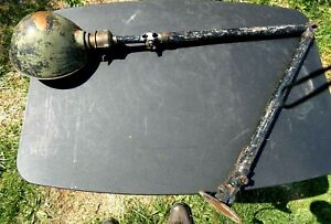 Vintage Industrial Steampunk Work Bench Articulated Light Fixture Table Lamp