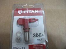 Titan Sc 6 Reversible Paint Sprayer Tip 662 211 5000psi