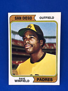 1974 Topps Baseball #456 Dave Winfield *CLEAN CARD*