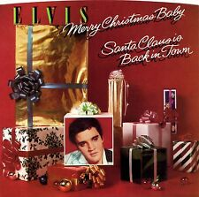 ELVIS PRESLEY 50th - Merry Christmas Baby - 1985 RCA Green Vinyl 45 + Pic Sleeve