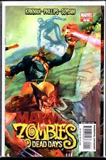 Marvel Zombies Dead Days One Shot Signed by Cover Artist Arthur Suydam VF