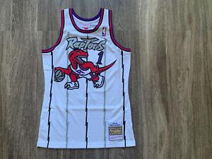 Tracy McGrady Tmac Toronto Raptors Authentic Swingman Jersey Men Mitchell & Ness