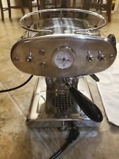 Francis Francis Stainless Steel X1 Espresso Maker Machine 110-120V EXCELLENT CON
