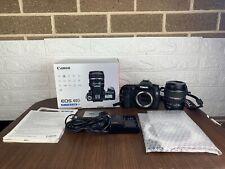 Canon EOS 40D 10.1MP Digital SLR Camera - Black (Kit w/ EF-S IS USM 17-85mm READ