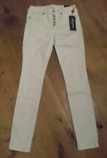 """W27"""" L29"""" True Religion Jennie Collection Women's White  Denim Skinny Jeans BNWT"""
