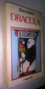 DRACULA BRAM STOKER 2° Edizione LONGANESI & C.1979 NOSFERATU