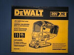DEWALT DCS334B 20V MAX XR Cordless Brushless Jig Saw NEW