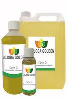 Jojoba Golden Pure Unrefined Carrier Oil 10ml 50ml 250ml 500ml 1L 5L 10L 25L