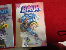 Baoh anime manga comic book #6 jojo's bizarre adventure author