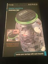 Digital Counting Money Jar The Black Series Electronic Piggy Bank Coin Counter