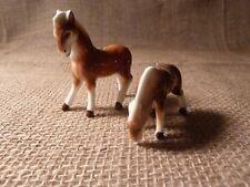 MINIATURE HORSES ~BONE CHINA~JAPAN
