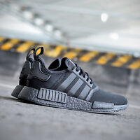 ADIDAS NMD_R1 TRIPLE BLACK S31508 BRAND NEW IN BOX UK SIZES 4,5,6,7,8,9,10,11,12
