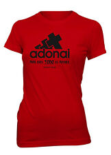 AproJes Para Dios Todo Es Posible Adonai Camiseta Cristiana Mujer