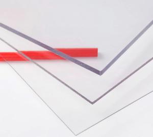 2-4 mm Polycarbonat Platte Scheibe verschiedene Größen glasklar transparent