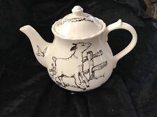 Andrea By Sadek Barnyard Toile Teapot