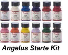 12 1oz Set Starter Kit Angelus Acrylic 1 oz Jordan Sneaker Paint Leather Vinyl
