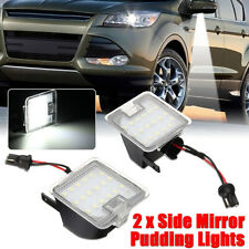 2x Side Mirror LED Puddle Light Error Free Fit For Ford Mondeo MK4 IV