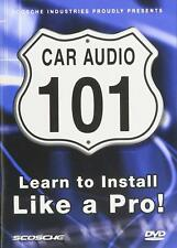 Learn to Install Car Audio DVD Video NO CASE NO ART EXCELLENT CONDITION SHIPS FA
